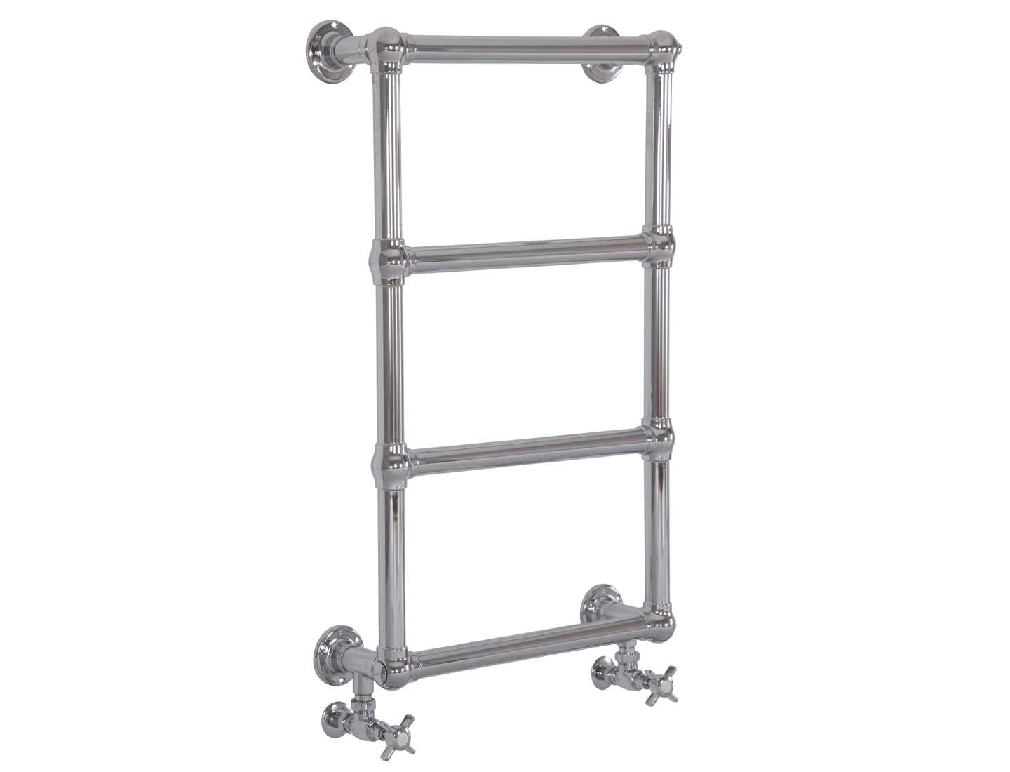 Bassingham chrome towel rail