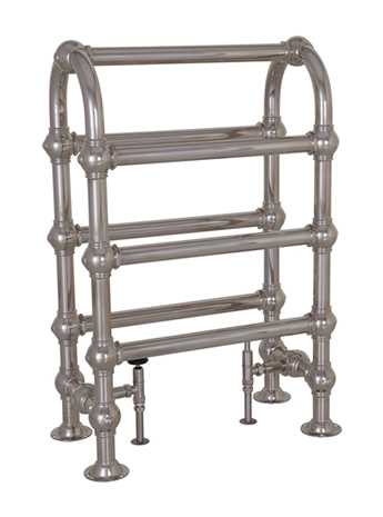 Colossus Horse heated towel rail in nickel