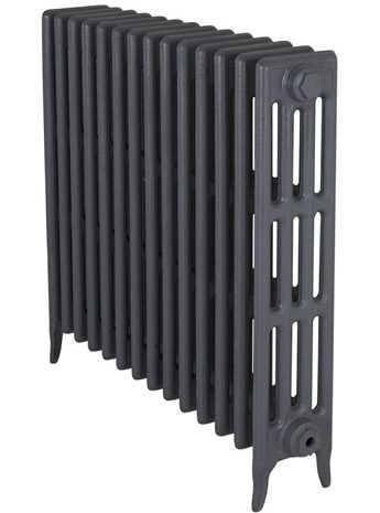 Victorian cast iron radiator in primer 810mm high