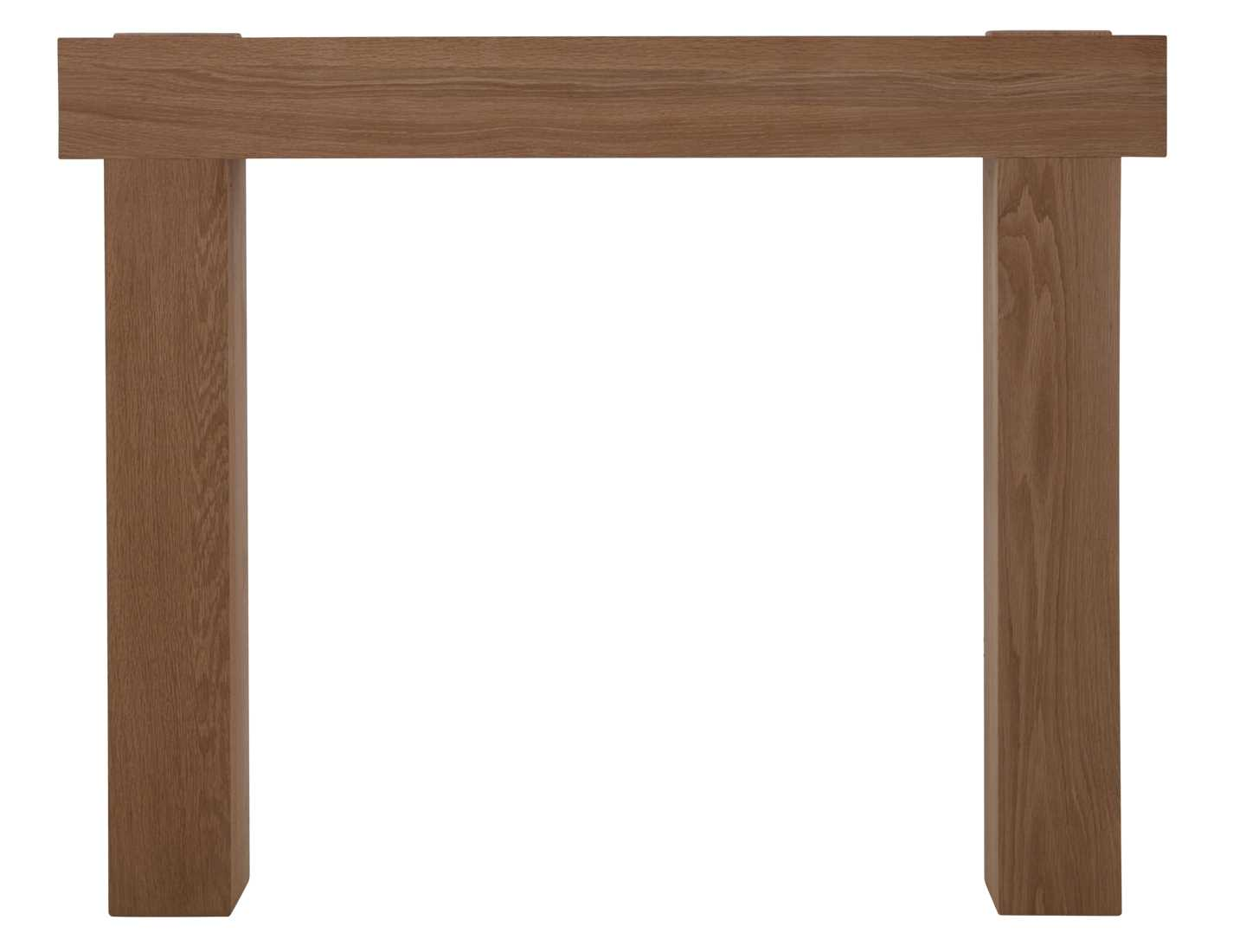 New york solid oak fire surround unwaxed