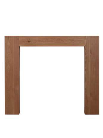 Manhattan solid oak fire surround