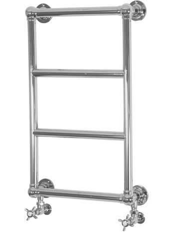 Winster steel wall mounted 4 bar towel rail chrome