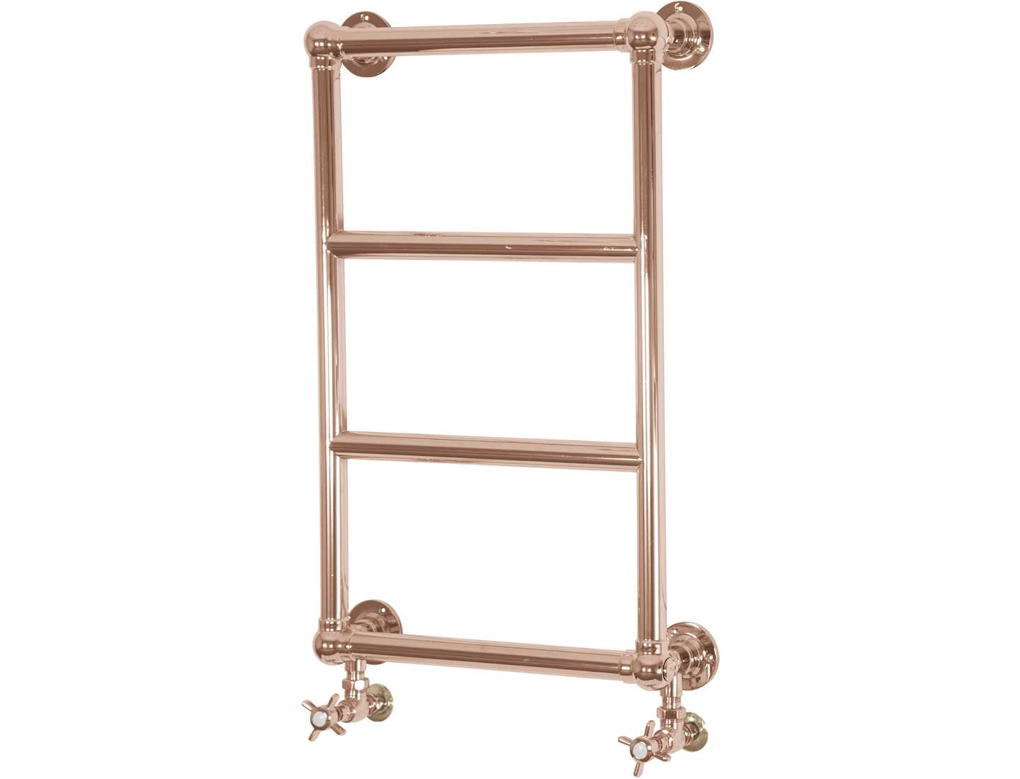 Winster wall mounted towel rail - copper
