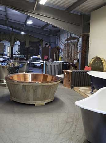 cast iron baths, radiators & graded products